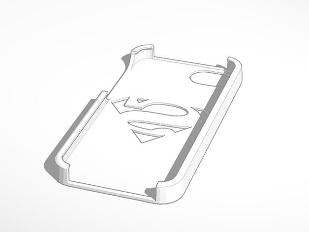 超人标志Iphone 5手机外壳