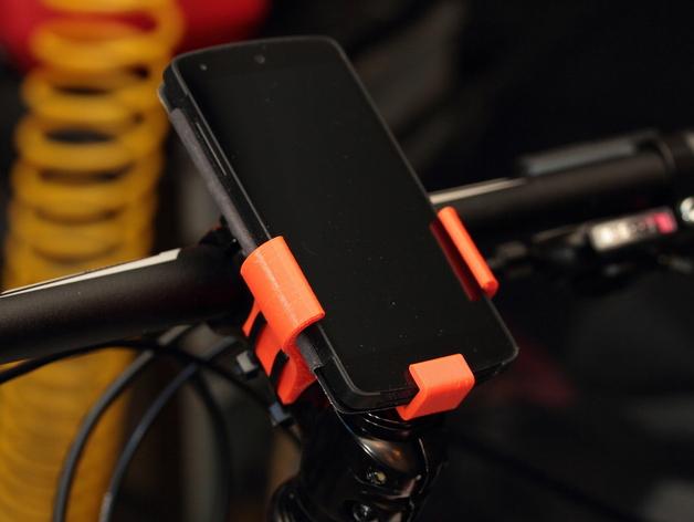 自行车载手机座