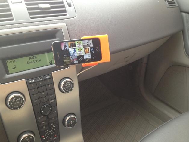 车载式iPhone 4/4s手机充电座