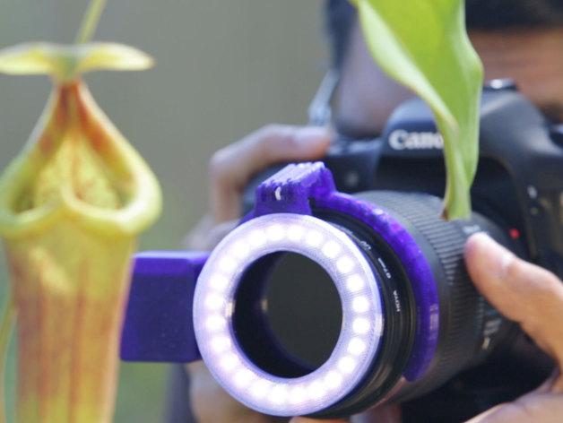 相机LED补光灯环