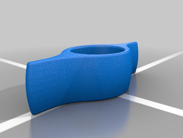 懒人书撑 3D打印模型渲染图