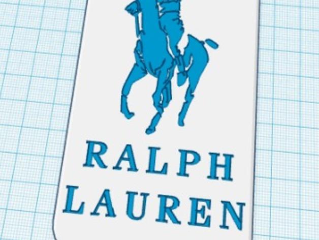 Ralph Lauren Polo品牌标志iPhone5手机外壳 3D打印模型渲染图