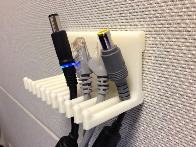 壁挂式电缆收纳架