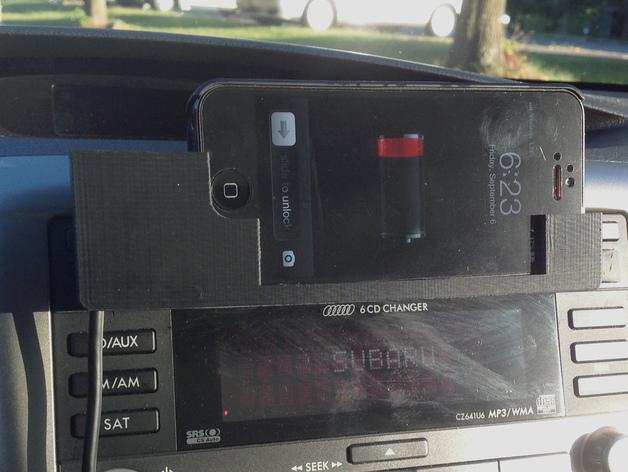 车载式iPhone5手机座