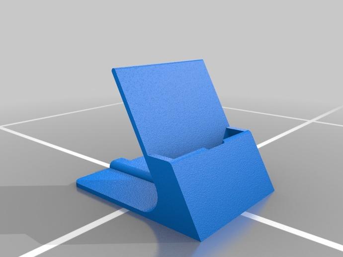 通用式手机支架 3D打印模型渲染图