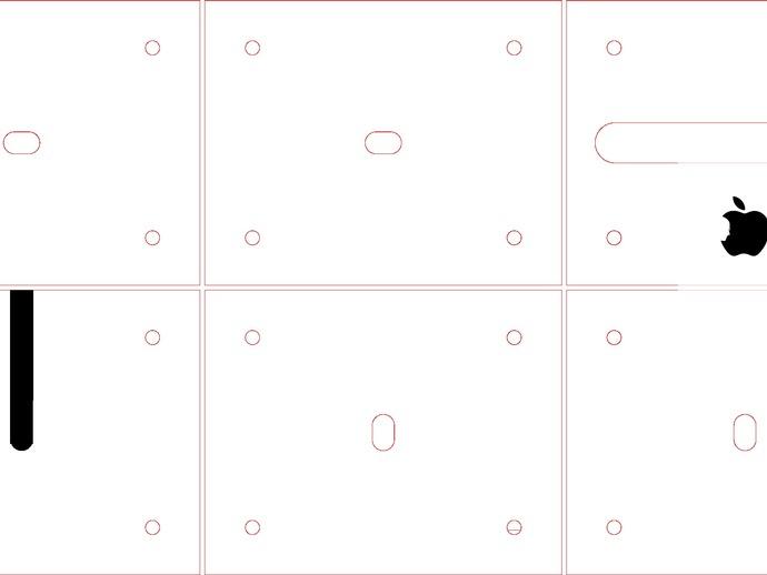 iPhone 5透明手机座