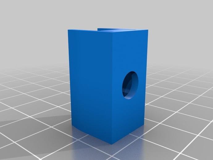 iPhone 4三角座连接器 3D打印模型渲染图