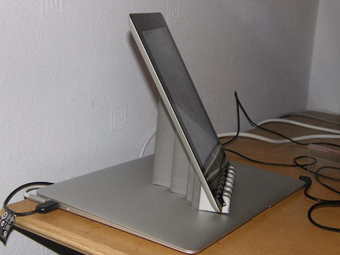 海浪形iPad支架
