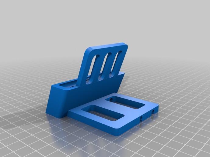 iPhone 5 手机架 3D打印模型渲染图