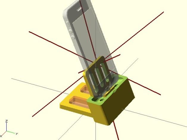 iPhone 5 手机架