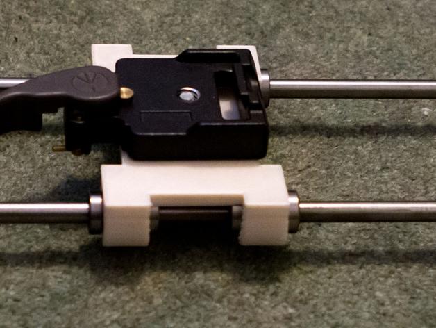 相机滑块 连接器 3D打印模型渲染图