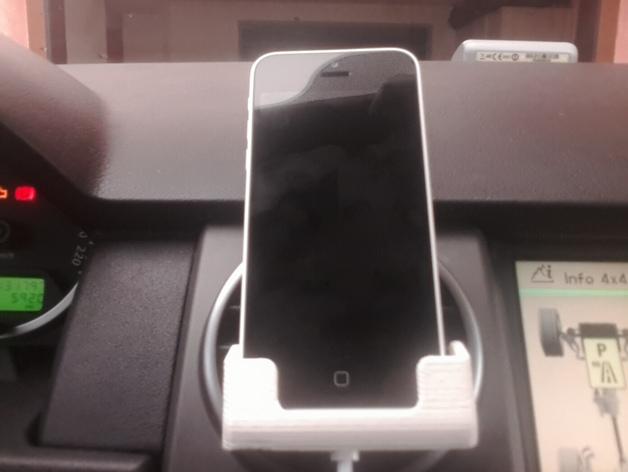 车载式iPhone 5c手机座