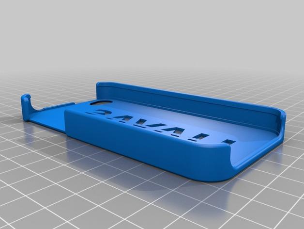 Havas标志iphone 4S手机外壳 3D打印模型渲染图