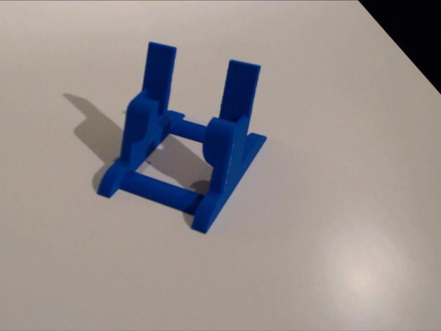 三星S3手机架 3D打印模型渲染图