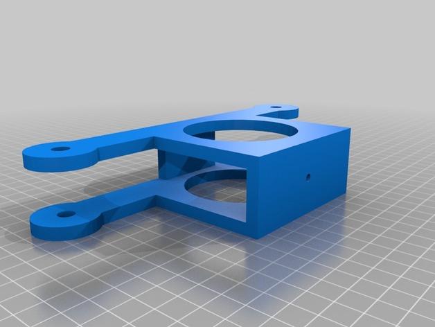 电缆凸轮 3D打印模型渲染图