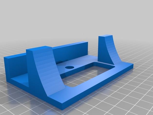 Xbox游戏主机支架 3D打印模型渲染图