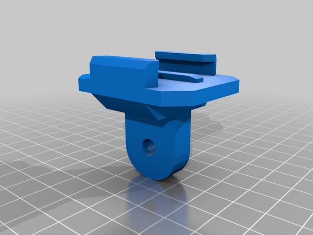 GoPro相机的单脚架连接器