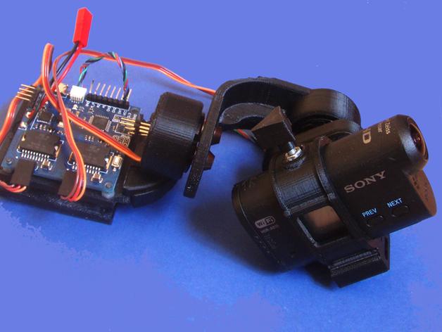 gopro2/3相机固定器/稳定器