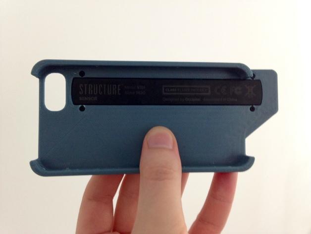 iPhone 5/5s手机外壳 三维结构扫描仪支架