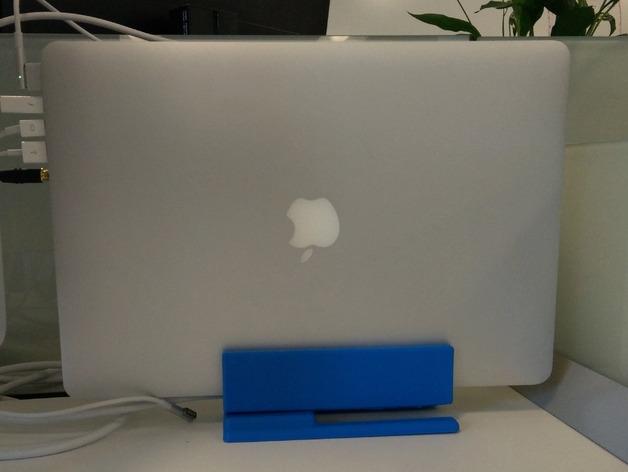 Macbook Pro笔记本电脑支架 3D打印模型渲染图