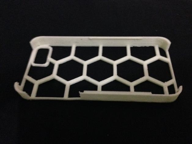 六边形图案iPhone手机外壳