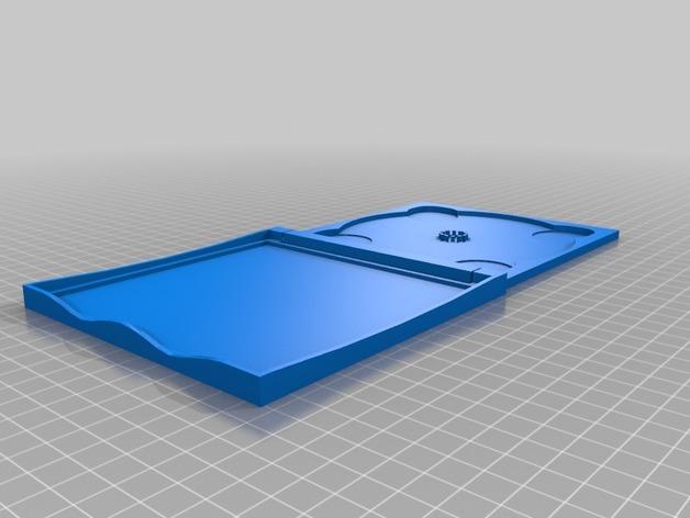 定制CD套 3D打印模型渲染图