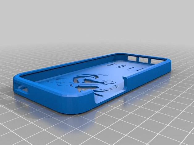 CQB手机套可加字 3D打印模型渲染图