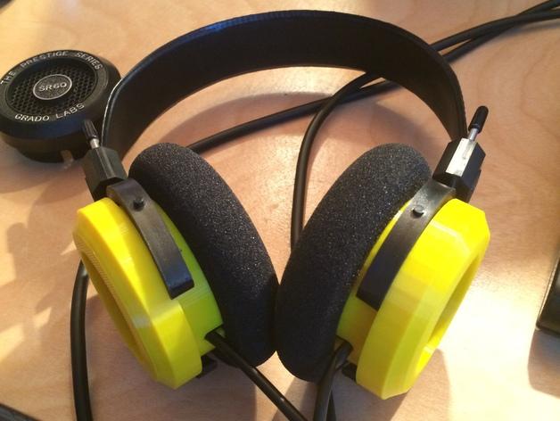 Grado耳机环 3D打印模型渲染图