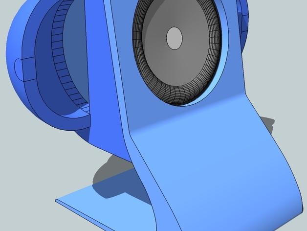 扬声器BR Visaton BF32 v2 3D打印模型渲染图