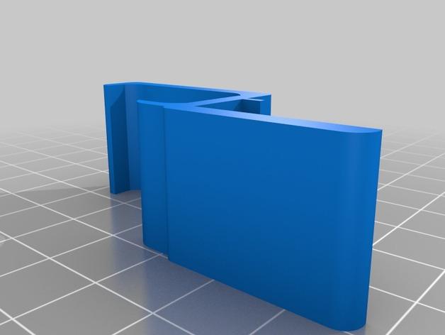 方形读卡器收纳固定器