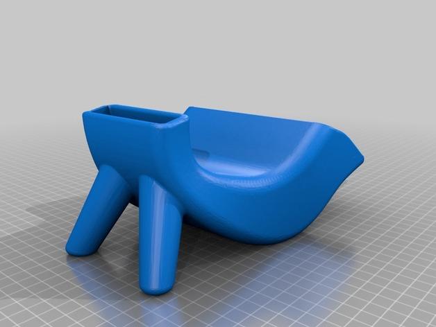 改进版iphone扬声器套 3D打印模型渲染图