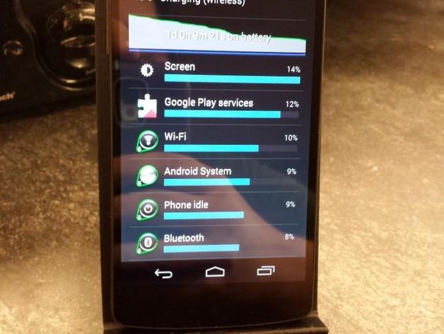 Nexus 5无线充电站架