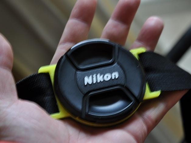 相机镜头盖盖扣