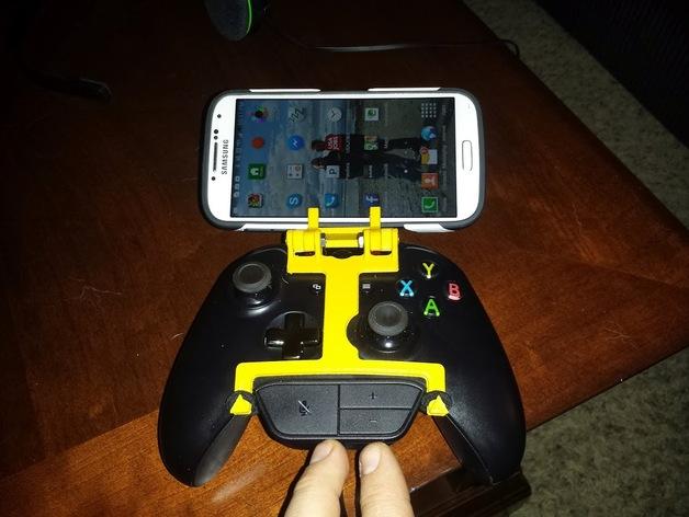 游戏机手柄 手机支架 3D打印模型渲染图