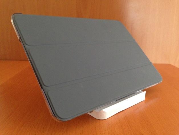 iPad mini 平板电脑支架 3D打印模型渲染图