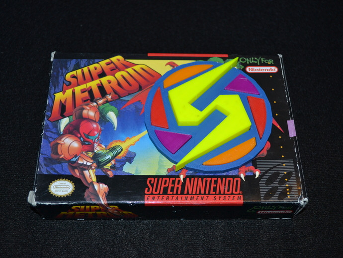 Super Metroid 超级银河战士标志