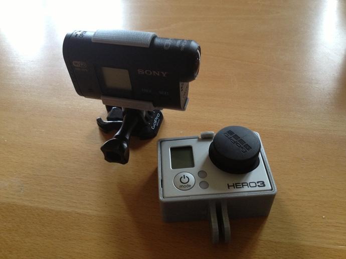 索尼运动相机支架