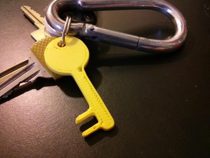 钥匙形状 手机支架