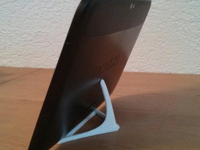 智能手机/平板电脑支撑架 3D打印模型渲染图