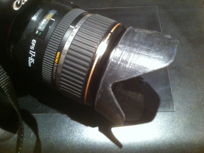 Canon EF-S佳能相机镜头遮光罩