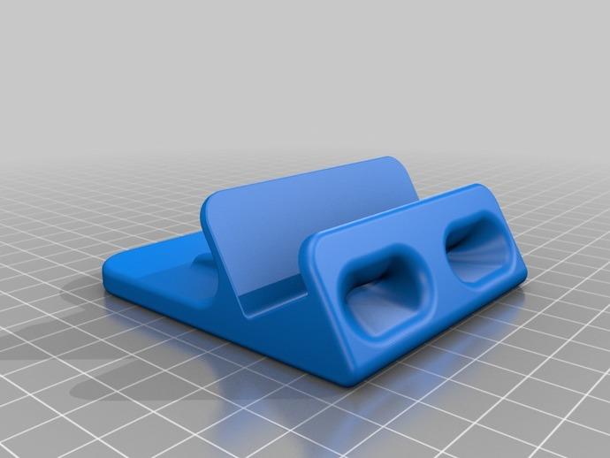 iPhone5手机支架 3D打印模型渲染图