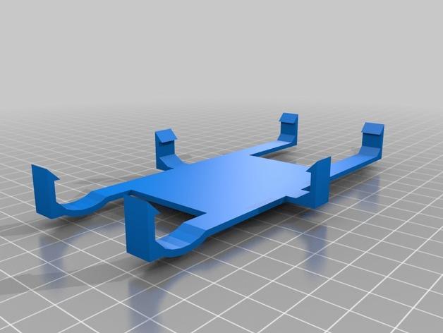 三星手机支架 3D打印模型渲染图