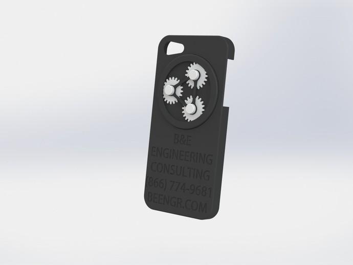 齿轮iPhone5 手机外壳