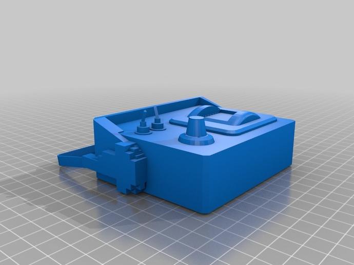 边防要塞 挖掘器 3D打印模型渲染图