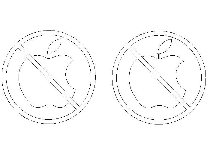 Anti-Mac标志