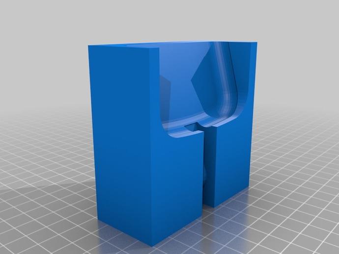 三星Galaxy S3 手机充电座 3D打印模型渲染图