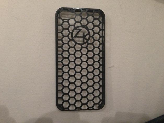 蜂巢图案iPhone5手机套