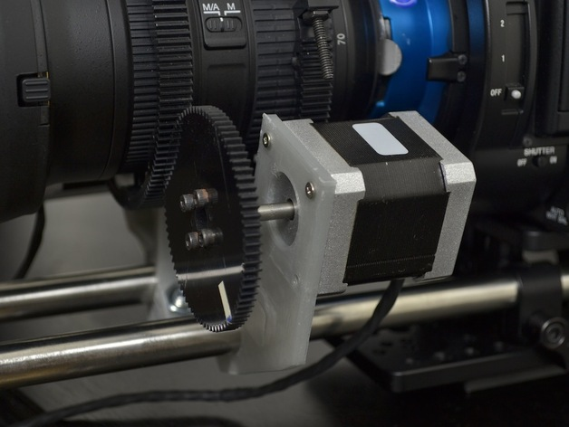 步进马达导轨支架 3D打印模型渲染图