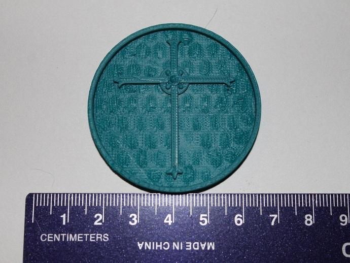 天启 硬币徽章