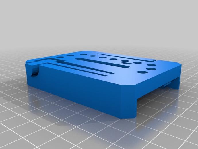 manfrotto曼富图 501 相机支撑架连接器 3D打印模型渲染图